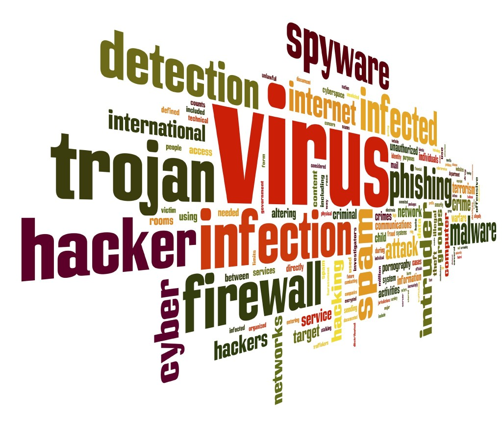 Virus spyware infected